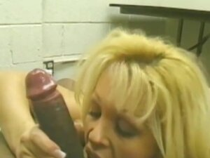 Interracial fucking with sexy blonde Dolly Golden