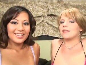 Horny pornstars Missy Monroe and Gianna Lynn in