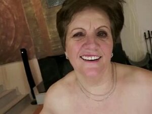 Mom with flabby body, saggy tits, hairy cunt & guy