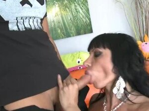 Busty Latina Slut riding in this Punisher Parody