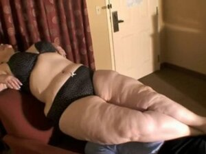 Fat BBW lady Facesitting lucky guy at Hotel Room