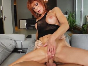 MILF hot mature lady Nina S gets a nice cock fuck