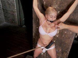 Busty blonde model Christie Stevens loves to be