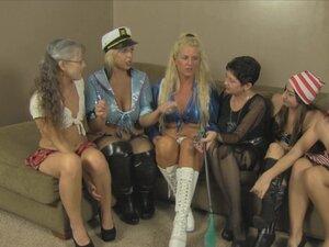 All Girl Halloween Orgy