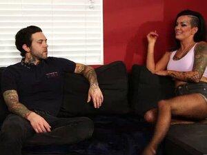 Big titty tattooed bitch seduces her horny