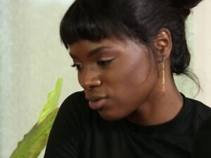 Guy Gets a Massage and Fucks an Ebony