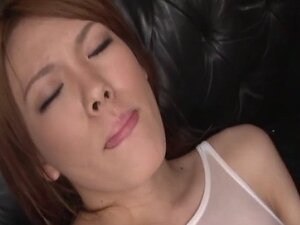 Asian babe toy massaged and gets facial in this HD