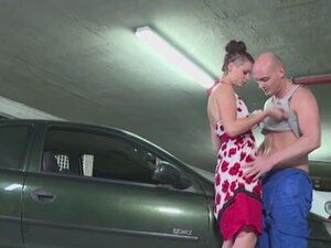 Cassy Young in Cassy Young's car broke down -