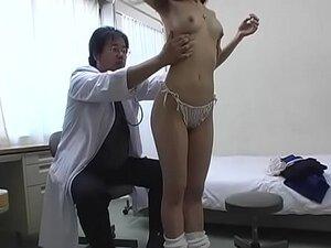 Subtitled CMNF Japanese schoolgirls group medical