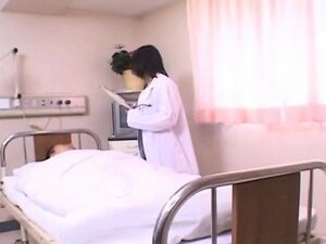 Horny doctor Shinobu gets banged by her patient