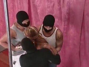 Hot blonde stripper getting banged, Sexy stripper