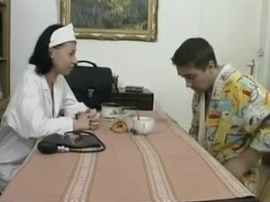 Vintage porn of an older guy fucking a French