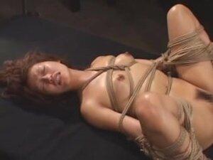 Slutty broad enjoys Japanese torture with sex