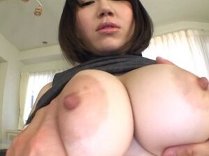 Big-breasted Japanese mom allows a masked dude to