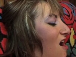 Horny french amateur slut gets hard fucked in a