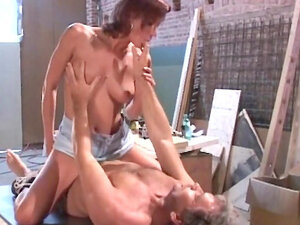 European babe Olivia is fucking with her man