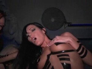 Busty chicks pussy hammered at a VIP sex party