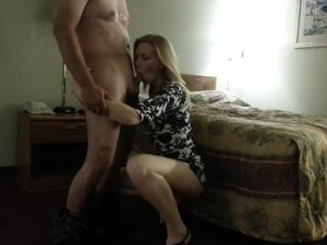 Blond Girl Giving Head And Getting Fucked In