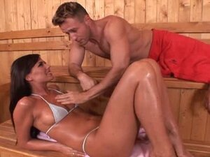 Simony 3some sauna