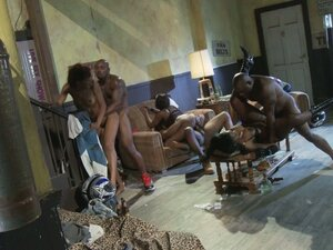 Marie Luv, Jada Fire, Nyomi Banxxx load mouths