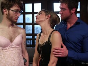Honeymoon Humiliation: Wife Cuckolds New Hubby