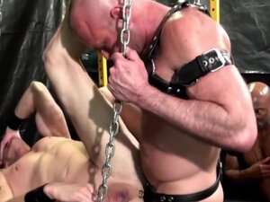 Hunk spunked by black rod, Hunk barebacked and