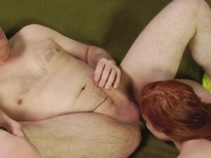 Igor in Super Hot Redhead Whore Gets Fucked On A