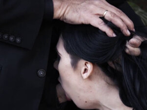 Emo slut fucks at funeral