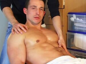 Eric a straight soccer player get wanked his huge