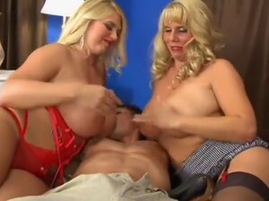 Big Cock For Big Twin Blonds