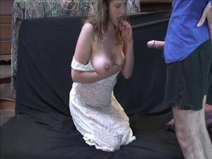Babysitter fucks hard for money and gets a
