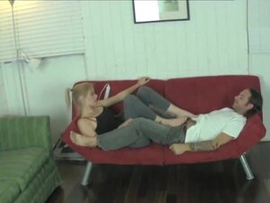 Vanessa Vixon Torments her Boyfriend with CBT Fun