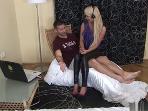 Best pornstar Amelie Pure in incredible foot