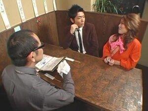 Horny Restaurant Girls, Couple guys discover a
