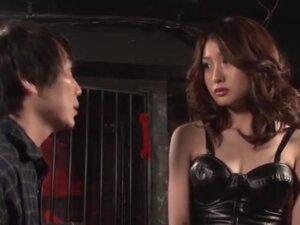 Masochistic Female Teacher, Saki Yano is a SM