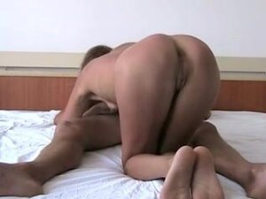 Astonishing golden-haired shows her passionate