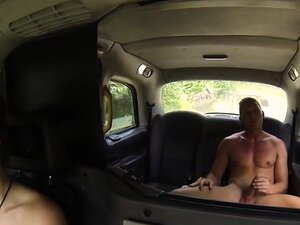 Inked cab driver bangs in woods