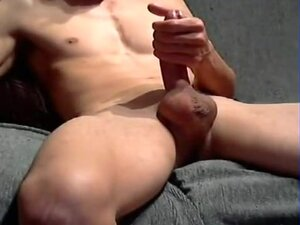 muscle boy jerking off, muscle boy jerking off
