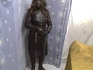 full leather tv