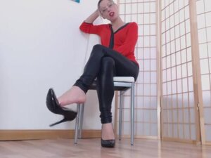 German mistress feet dirty talk,