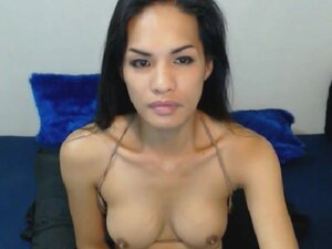 Exotic Shemale from the Orient Ready for Hard