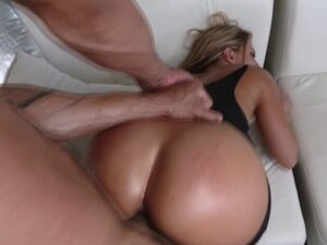 Sweet ass babe fucked in hot lingerie