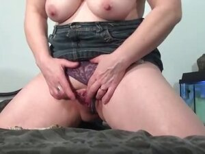 Horny mature mom is squeezing part6
